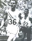 XV Olympiad - Helsinki, Finland - Mal Whitfield - First American serviceman to win a gold medal whild in active duty.